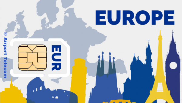 Buy a SIM card for Europe at Amsterdam Airport